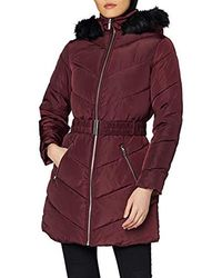 Dorothy Perkins - Long Luxe Padded Jacket - Lyst