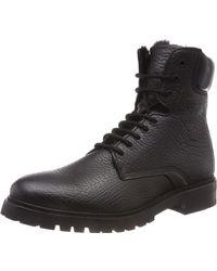 HUGO Explore_Halb_gr Combat Boots - Schwarz