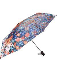 Desigual Umbrella Freya Purple Potion - Blue