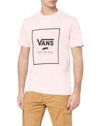 Vans Print Box T-shirt - Pink