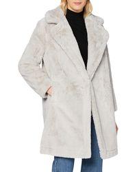 French Connection Amato Suiting Oversized Blazer Cappotto di Misto Lana - Nero