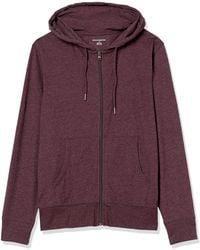Amazon Essentials Lightweight Jersey Full-Zip Hoodie Fashion-Hoodies - Viola
