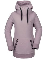 Volcom Polartec Riding Hoody - Purple