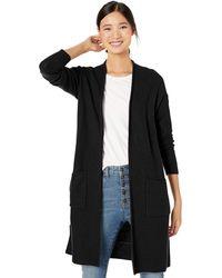 Goodthreads - Wool Blend Honeycomb Longline Cardigan Sweater Sweaters - Lyst