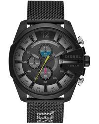 DIESEL - Chronographe Quartz Montre avec Bracelet en Acier Inoxydable DZ4514 - Lyst