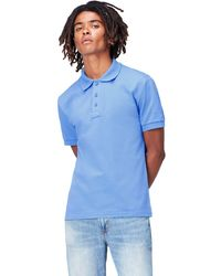 FIND Polo à ches Courtes - Bleu