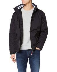 Tommy Hilfiger TJM Essential Hooded Jacket Blouson Homme - Noir