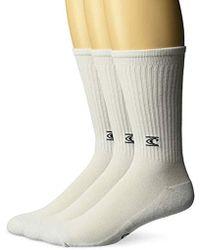 O'neill Sportswear Commons 3 Pack Crew Sock - White