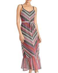 RACHEL Rachel Roy Plus Size Finn Maxi Dress - Pink