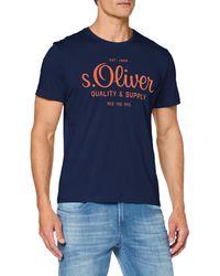 S.oliver 03.899.32 T-Shirt - Blau
