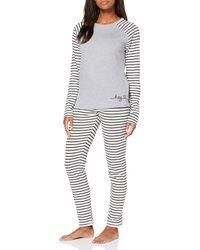 Esprit Elske Cas Nw Pj.s.ls_ll Pyjama Set - Grey