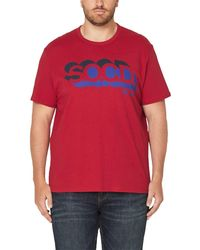 S.oliver Big size T-Shirt - Rot