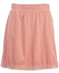 Woolrich Meadow Forks Skirt - Pink