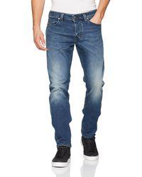 DIESEL Larkee-BEEX Straight Jeans - Blau