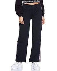 Tommy Hilfiger Halina Flared Sweat Pant, Pantalon De Sport - Noir