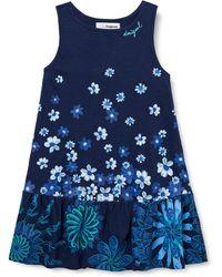 Desigual Vest_Lisa Vestimenta Casual - Azul