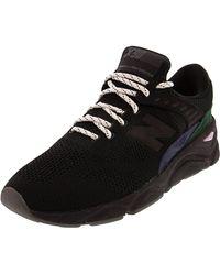New Balance - Herren X-90 Sneaker, Schwarz (Black/Rain Cloud/Classic Blue Bk), 45 EU - Lyst