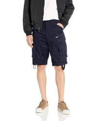 G-Star RAW Rovic Zip Relaxed 1\\2-Length Shorts Pantaloncini Uomo - Neutro