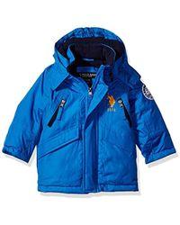 9ad774f36 Lyst - U.S. Polo Assn. Us Polo Association Little Boys  Outerwear ...