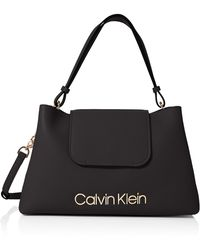 Calvin Klein Dressed Up Top Handle - Black