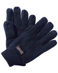 Regatta Unisex Thinsulate Thermal Winter Gloves - Blue