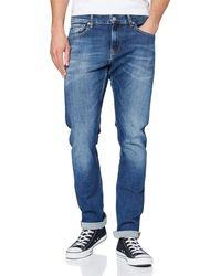 Calvin Klein Ckj 026 Slim Trousers - Blue