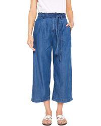 Edc By Esprit 049CC1B007 Flared Jeans - Blau