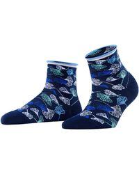 Esprit Ginkgo Leaves W Sso Socks - White