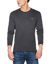 Lacoste T- Shirt Homme - Gris