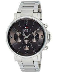 Tommy Hilfiger Reloj de Pulsera 1710382 - Metálico