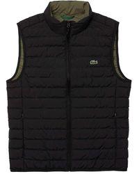 Lacoste BH3981 chaqueta de hombre - Negro