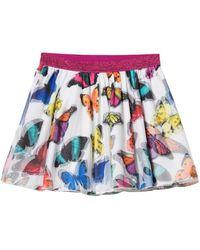 Desigual Girl Knit Skirt Evase (Fal_balsareny) Falda - Multicolor