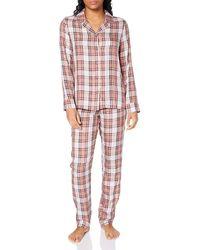 Tommy Hilfiger Full Woven Set Juego de Pijama - Multicolor