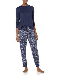 Nautica Pajama Pyjama Set - Blau