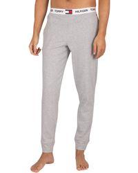 Tommy Hilfiger Pour des s Logo Pyjama Bottoms - Gris