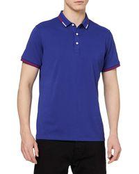 HIKARO Amazon Brand Polo Business ches Courtes Tee Top Breathable Casual Work Sports Golf Polo T-Shirts pour s Royal Blue XL - Bleu