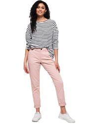 Superdry Pantalon Chino City - Rose
