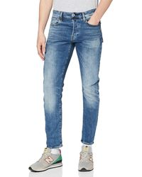 G-Star RAW - 3301 Straight Tapered Jeans - Lyst