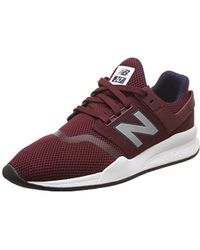 huge discount bc677 611b1 247v2 Trainers - Red