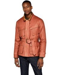 FIND Coated Belted - Brown