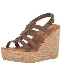 adidas High Society Ankle Strap Sandals, Brown Braun, 9 Uk
