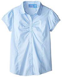 Nautica - Uniform Short-sleeve Blouse - Lyst