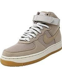 Nike Wmns Air Force 1 Hi Ut Fitness Shoes - Natural