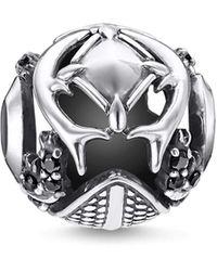 Thomas Sabo Argent Charms et Perles - K0336-643-11 - Noir