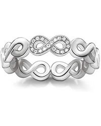 Thomas Sabo - 925 Argent|#Silver Blanc Diamant - Lyst