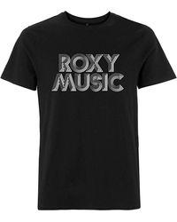 Roxy Shirt décontracté à manches courtes avec logo pour homme - Noir