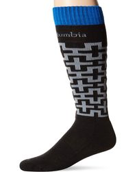 Columbia Winter Blur Ski Sock - Black