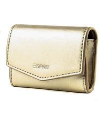 Esprit Nika Mini Wallet Gold - Metallic