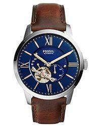 Fossil Montre ME3110 - Bleu