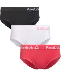 Reebok S Seamless Hipster Knickers - Red
